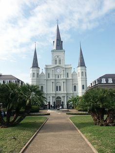 Jackson Square Cathedral in New Orleans, Louisiana
