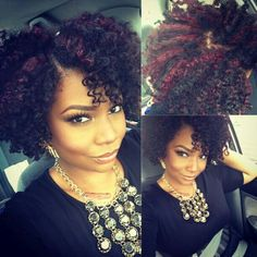 Gorgeous ..... Love the color and thickness.....makes me want natural hair