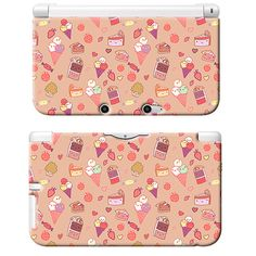 Sweet Tooth Kawaii Candy Art Print Nintendo 3DS XL Plastic Case Japan Anime