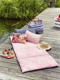 naehanleitung picknickmatte