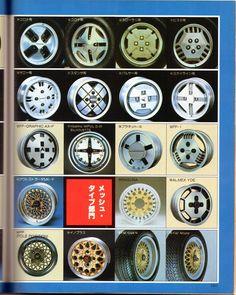懐かしいホイール 1982 まだ見ぬ車を探して・・・ ブログ kimu_march みんカラ - 車・自動車SNS(ブログ・パーツ・整備・燃費)