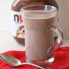 Nuttella hot chocolate.