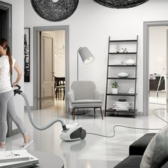 AEG VX8-2-IW-A Vacuum Cleaners Home Comforts, Oversized Mirror, Vacuum Cleaners, Furniture, Home Decor, Products, Buxus, Lights, Vacuums
