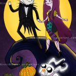 Halloween couples idea Adventure Time Mashup Fan Art<<<The Nightmare Before Christmas and Adventure Timeee😍 Cartoon Adventure Time, Adventure Time Art, Marceline, Nightmare Before Christmas, Cartoon Network, Jack Y Sally, Adveture Time, Adventure Time Wallpaper, Finn The Human