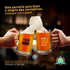 Parceria Rota da Cerveja e Tour Cervejeiro on Behance