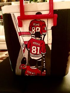 Chicago Blackhawks fraternity cooler design