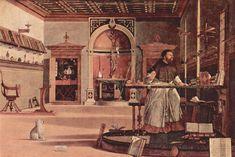 1502-1507 Vision of St. Augustine - Vittore Carpaccio