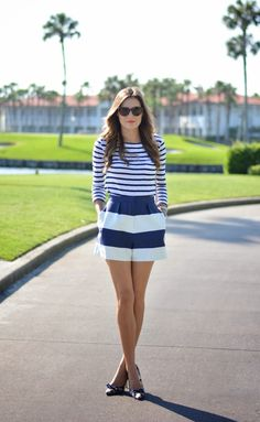 Stripes on stripes. #fashion2014
