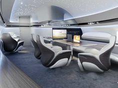 Luxury Jets, Luxury Private Jets, Private Plane, Interior Concept, Interior Design, Airplane Interior, Yacht Interior, Private Jet Interior, Camas King