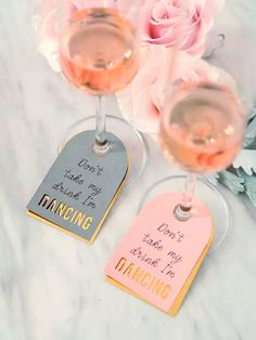 Don't take my drink, I'm dancing 💃   We love these little tags & recently suggested them to two of our clients for their events next year who loved them as much as we do!✨  #stewartbrownevents #extraordinaryevents #itsallinthedetail #partiesbysbe