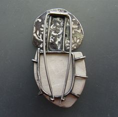 Fragment Series, Brooch #2 - Back by lorahart, via Flickr