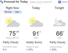 After four 90+ degree days in a row, DPS calls a heat day for early dismissal when the clouds provided a nicer day.