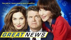 Great News (NBC-January 4, 2018) Season 3-a sitcom created/written by Tracey Wigfield. Co-executive produced with Tina Fey, Robert Carlock, and David Miner. The series, set in the world of television news, follows an up-and-coming news producer who finds herself dealing with a new intern: her mother. Stars: Tracey Wigfield, Briga Heelan, Andrea Martin, Adam Campbell, Nicole Richie, Horatio Sanz.