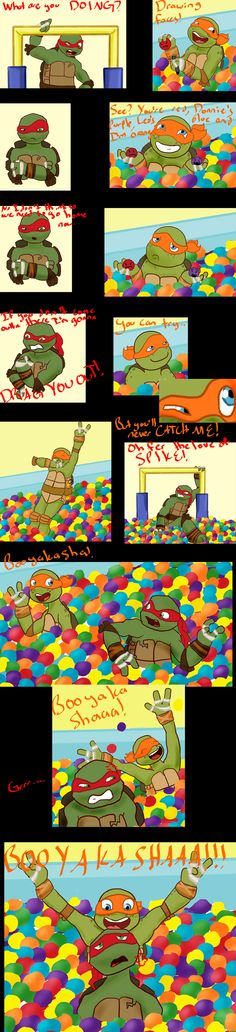 The Big Turtle Theory: Booyakasha In The Ball Pitby *craZkid