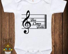 Custom Prodigy Baby Jumpsuit Newborn Logo Music One Piece Romper Unisex Black