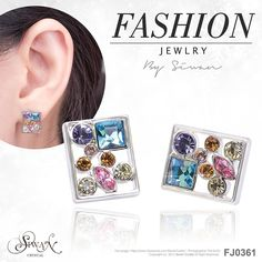 Fashion Jewellery - Colourful Crystals