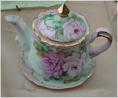 JH174 ROSES Tea For One With Saucer-