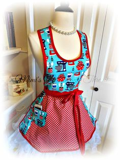 Hey, I found this really awesome Etsy listing at https://www.etsy.com/listing/218649959/over-the-head-womans-apron