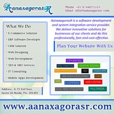 are you looking for a business website ? AanaxagorasR provides with the quality web designing services in order to flourish you business with new and attractive look to reach your targeted audiences in the way you want Plan your website with us visit: http://www.aanaxagorasr.com/webdesign.php Or Call- +918744025333