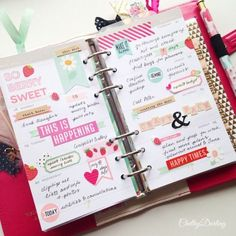 This layout is so berry sweet!