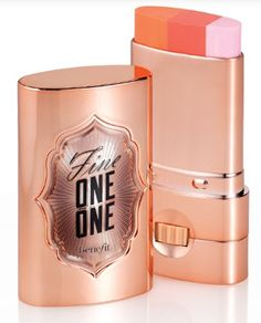 Benefit Fine One One cheek and lip tint. Looks cool but don't know how it would turn out!