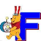 Divertido Alfabeto de Winnie the Pooh y sus Amigos.