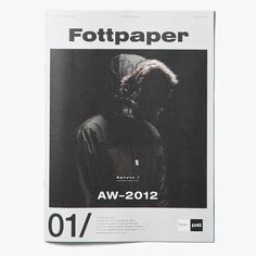 Fottpaper 01: AW-2012