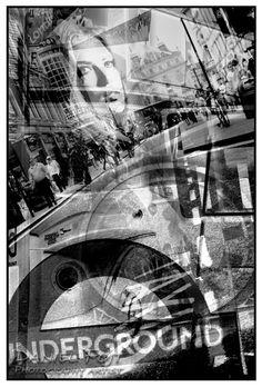 Daniel Fojt - Cosmopilitan - London Montage Series