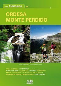 ORDESA, MONTE PERDIDO. Gavasa, Juan; Viñuales, Eduardo. Introducción al parque nacional y a los cuatro valles que lo componen con explicaciones de los paisajes y una aproximación a la inmensa diversidad de sus ecosistemas. Contiene, además, recorridos en coche, excursiones montañeras para todos los niveles y una exhaustiva guía  de alojamientos y servicios de primera necesidad. Disponible en http://roble.unizar.es/record=b1693791~S4*spi