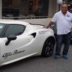Rene from Revv Motorong with our Official Media car for the F1 thanks to Euroatumobiles Singapore for the Alfa 4C.... #sgcarshoots #sgexotics #speed #sgexotic #sgcaraddicts #sportcars #sgcars #revvmotoring #givesyouwings #nurburgring #instacar #carinstagram  #redbull  #fastcars #motorsports #gopro #monsterenergysg  #thedrivenetwork #igsg #singapore #instagrammers #ignation #igaddicts #supercarlifestyle  #trackday #asia #statigram