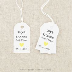 favor tag printable text editable navy blue heart small tag size