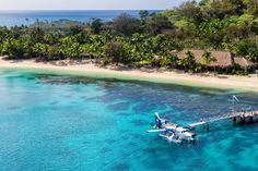 Fiji Kokomo Island Resort, is Fiji's largest and most luxurious to open on the island. Check out our exclusive guide to Fiji here. Kokomo Island, Places Around The World, Around The Worlds, Bucket List Destinations, Island Resort, Luxury Villa, Beach Trip, Villas, Fiji Islands