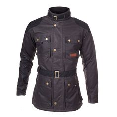 Millerain Waxed Cotton Woodford Biker Jacket
