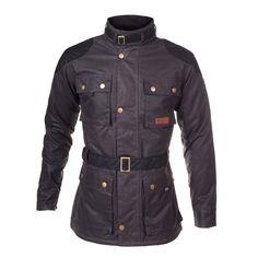 Millerain Waxed Cotton Woodford Biker Jacket
