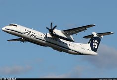 Bombardier Dash 8-Q402 - Alaska Airlines (Horizon Air) How Scotty and I came here
