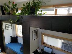 kleine huis woonkamer
