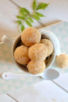 Bouchées végétales à la noix de coco