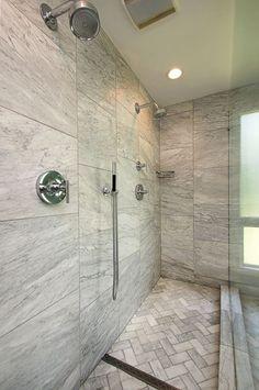 Attractive travertine bathroom sinks