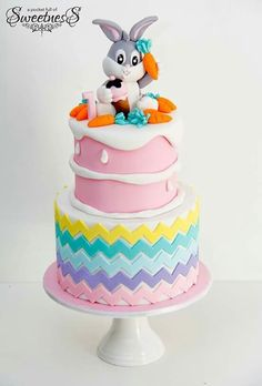 11 Best Bugs Bunny Cakes Images Bugs Bunny Bunny Cakes Birthday Cake