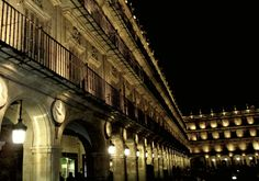 Night in Salamanca