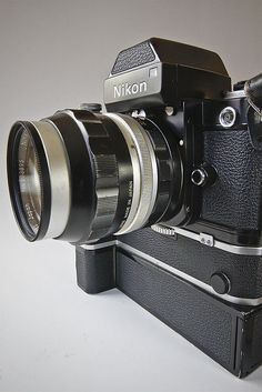 Nikon by carlzon Nikon Camera Lenses, Nikon F2, Leica Camera, Camera Gear, Canon Lens, Film Camera, Antique Cameras, Old Cameras