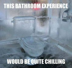 Toilet in winter hahaha Ice Hotel, Hotel Pool, Plumbing Humor, Pool Bathroom, Mind Blowing Facts, Amazing Bathrooms, Mind Blown, Haha, Improve Yourself