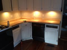 installing ikea butcher block countertops by oldtownhome