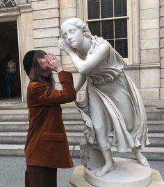 A fun image sharing community. Explore amazing art and photography and share your own visual inspiration! Statue Art, Tableaux Vivants, The Secret History, Art Hoe, Foto Pose, Oeuvre D'art, Art Museum, At Least, Artsy