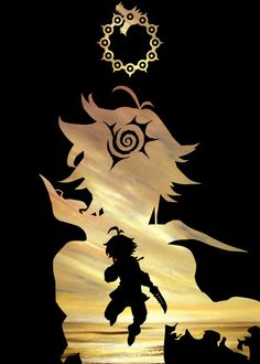 Seven Deadly Sins Tattoo, Escanor Seven Deadly Sins, Otaku Anime, Manga Anime, Anime Art, Cool Anime Wallpapers, Animes Wallpapers, Meliodas Vs, Ps Wallpaper