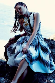 Beyond The Sea - May 2012 / Fashion Director: Elizabeth Cabral / Photographer: Chris Nicholls