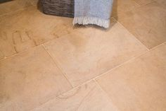 A stunning softly tumbled flagstone quarried in Cirencester for a wonderful natural floor. Flagstone Flooring, Limestone Flooring, Natural Stone Flooring, Stone Tiles, Rustic Furniture, Natural Stones, Building A House, Tile Floor, Diner Ideas