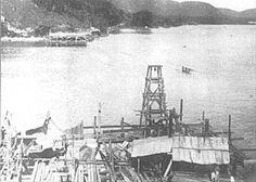 Construindo Ponte Pensil 1912