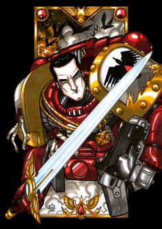 Azrael Corvus, Captain of the Blood Ravens 3rd Company