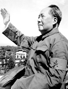 Mao Zedong, principal Chinese Marxist theorist, soldier, and statesman who led his country's communist revolution and served as chairman (chief of state) of the People's Republic of China from 1949 until his death in Read more about Mao's life here. Mao Zedong, Chinese China, History Projects, Important People, Poster Pictures, Korean War, Time Magazine, World Leaders, World History